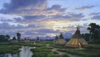 Summer Encampment Fine Art Print