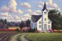 Conway Church 2 Fine Art Print