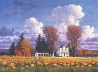 October Skies Fine Art Print