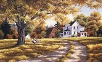 Days Of Autumn Fine Art Print