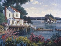 Deer Harbor In Spring Fine Art Print