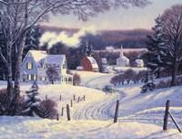 Mid Winter Afternoon Fine Art Print