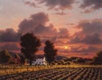 Autumn Sunset 2 Fine Art Print