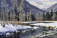 Along The Blackfoot Fine Art Print