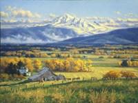October Gold Fine Art Print