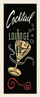 Cocktail Lounge Fine Art Print
