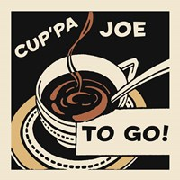 Cup'Pa Joe To Go Fine Art Print