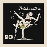 Drinks With A Kick Fine Art Print