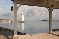 Grosse Ile Lighthouse #1, Detroit, Michigan 09 Fine Art Print