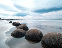 Moeraki Boulders #3, New Zealand 98 Fine Art Print