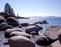 Sand Harbor Beach, Lake Tahoe, Nevada 88 Fine Art Print