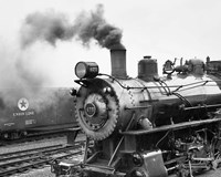 Locomotive, Ohio 85 Fine Art Print