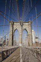 Brooklyn Bridge,  New York City, New York 08 Fine Art Print