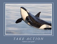 Take Action Motivational Fine Art Print