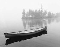 Lone Canoe, Liverpool, Nova Scotia, Canada 04 Fine Art Print