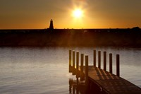 Ludington Sunset, Ludington, Michigan 12 Fine Art Print