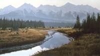 Kootenay Dawn Fine Art Print