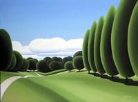 Poplars Fine Art Print