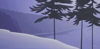 Seabank Winter Fine Art Print