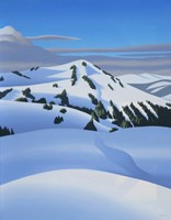 White Mountain Fine Art Print