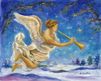 Christmas Angel - Joy to the World Fine Art Print