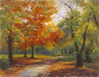 Autumn Path Fine Art Print