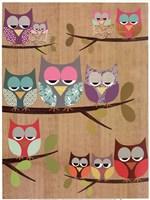 Owl Tree I Fine Art Print