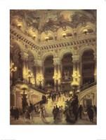 Le Couloir de L'Opera Fine Art Print