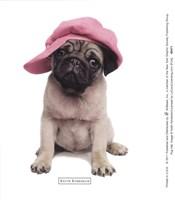 Pug Hat Fine Art Print