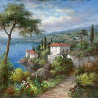 Villa Flora II Fine Art Print