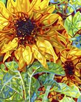 Summer In The Garden Fine Art Print