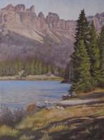 Brooks Lake Fine Art Print