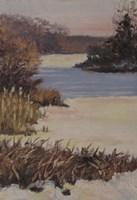 Kent Lake Snow Fine Art Print