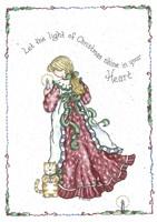 Let The Light Of Christmas Fine Art Print