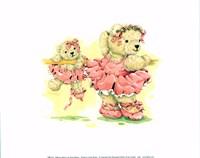 Ballerina Bears, I Fine Art Print