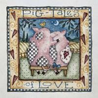 Pig-Tales Of Love Fine Art Print