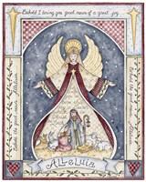 Alleluia Angel Nativity Fine Art Print
