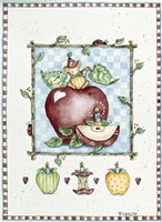 Mouse With Apple Fine Art Print