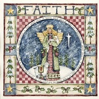 Christmas Faith Fine Art Print