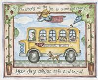 School Bus - Stop Fine Art Print