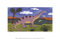 Dippy the Diplodocus Fine Art Print
