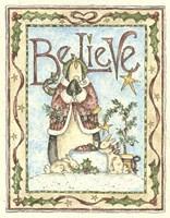 Believe Penguin Fine Art Print