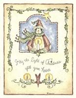May The Light Penguin Fine Art Print