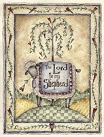 The Lord Is My Shepherd Fine Art Print