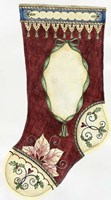 Red Stocking For Portrait Fine Art Print