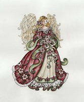 Christmas Angel Fine Art Print