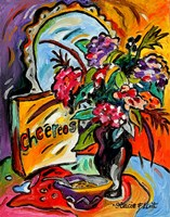 Flowers And Cheereos Fine Art Print