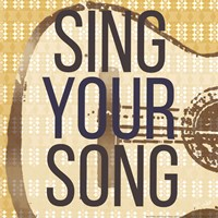Sing Your Song Fine Art Print