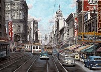 1941 Market St. San Francisco Fine Art Print