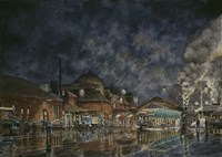 The Le Grande Station Fine Art Print